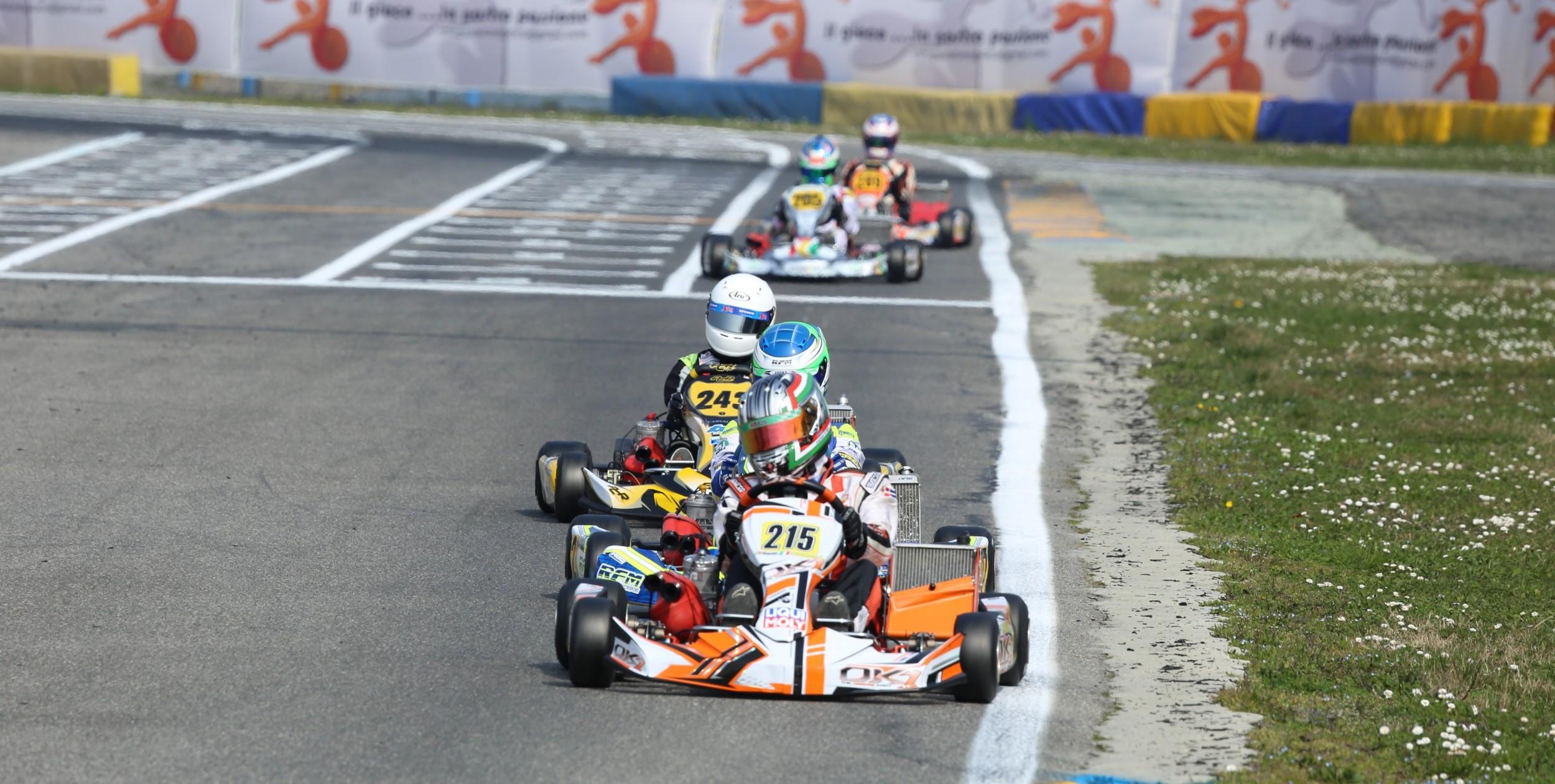 Cruiser-M2 in pista - WSK Master Cup